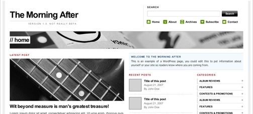 wordpress-cms-theme-morningafter