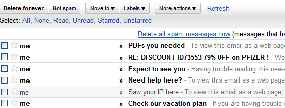 spam-emails