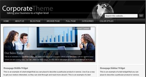 corporate wordpress templates