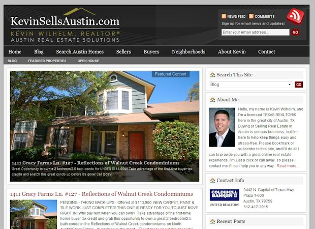 free wordpress Real Estate theme kevinsells