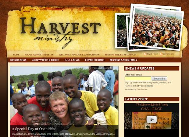 harvestministry  wordpress Church Theme