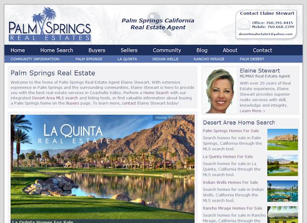 wordpress Real Estate theme palmsprings