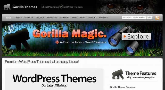 gorilla-wordpress-theme-discount-codes
