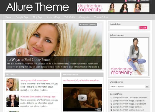 studiopress Allure WordPress Theme