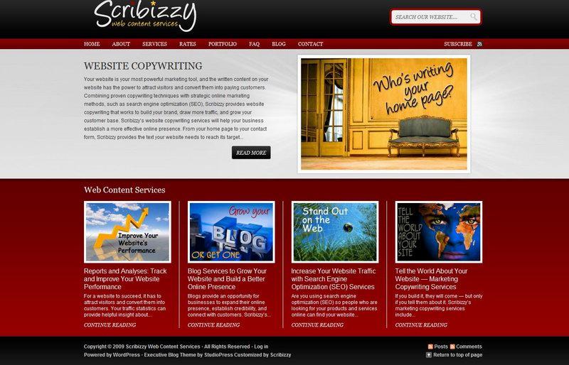 CMS wordpress theme