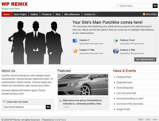 business-wordpress-theme