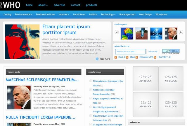 elegantthemes who is who magazine news theme