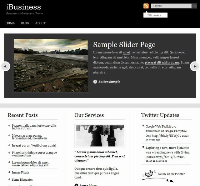 insurance wordpress themes