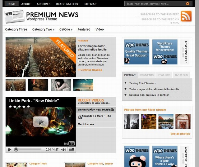 magazine wordpress church theme free