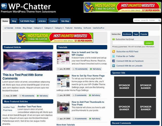solostream news magazine theme wp chatter