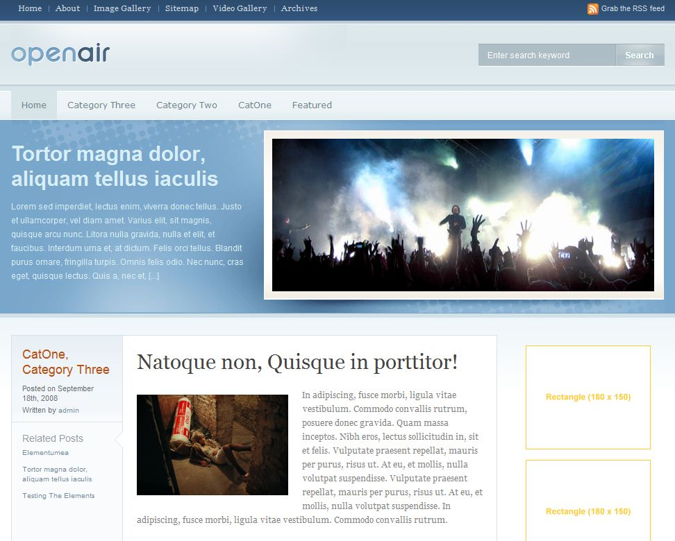 insurance wordpress news magazine template