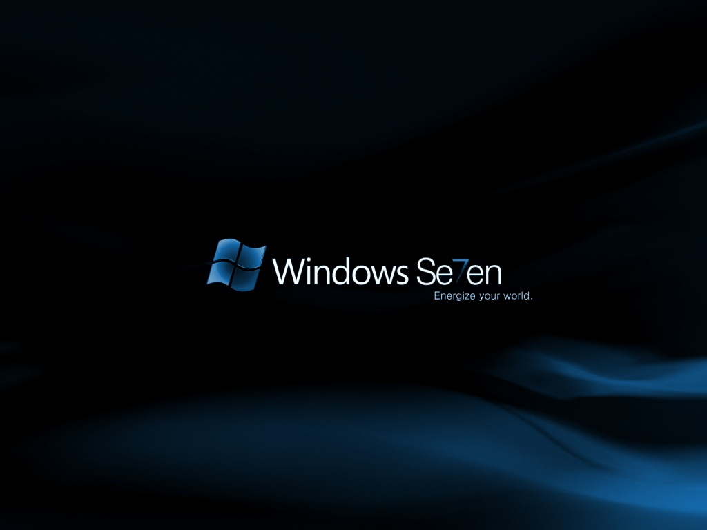 Blue Classic Windows Seven Wallpapers For Desktops