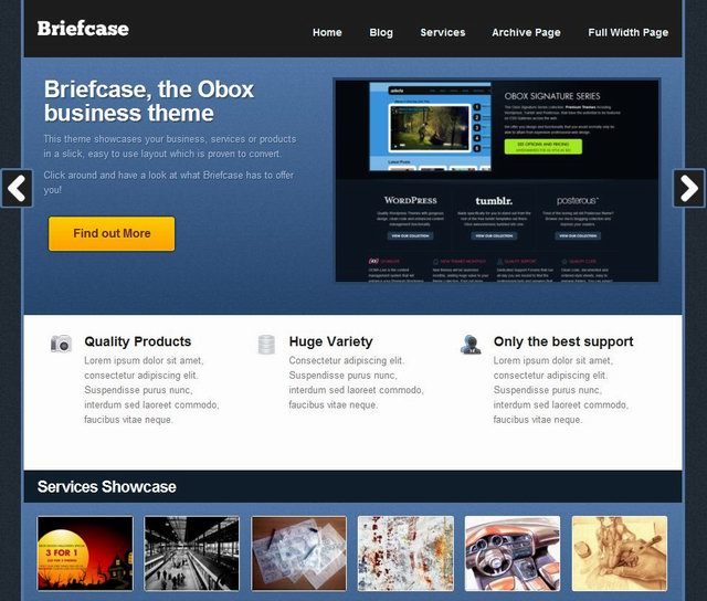 2010 wordpress cms coporate theme