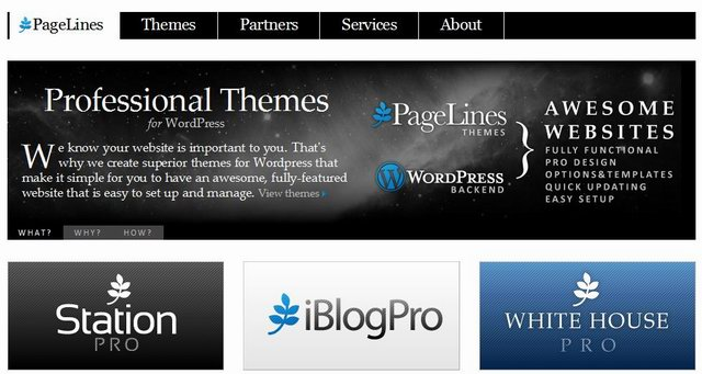 pageline-wordpress-cms-templates