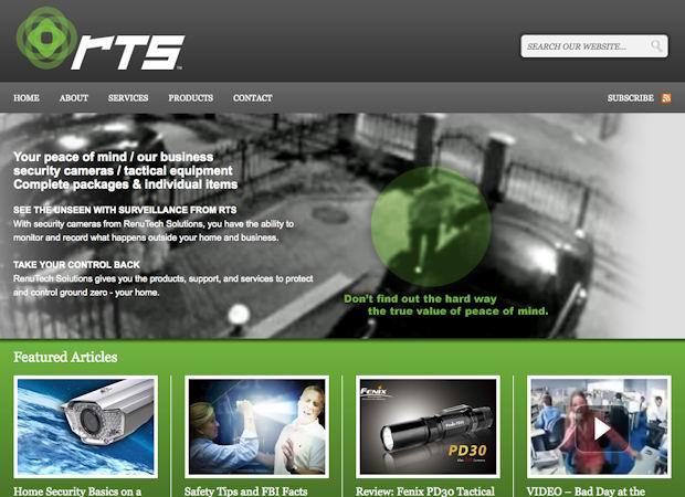 wordpress business cms theme Renutech Solutions