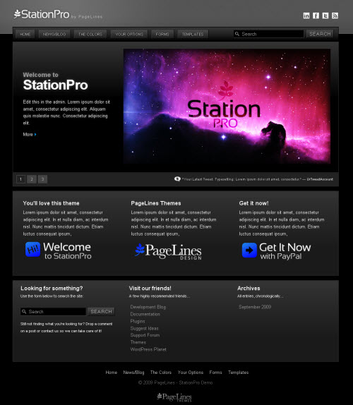 Station Pro wordpress theme