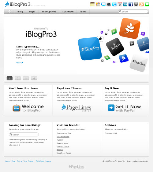iBlog Pro 3 wordpress theme