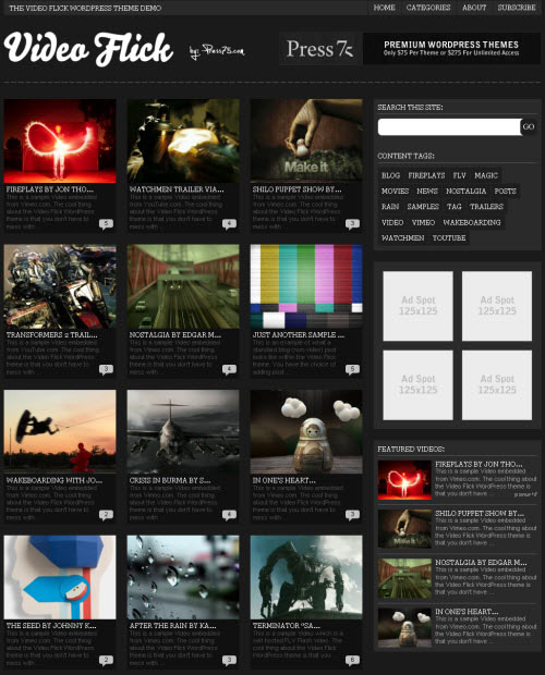 video flick 2 theme
