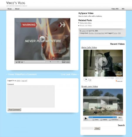 10+ Best Free and Premium Video WordPress Themes – Dobeweb