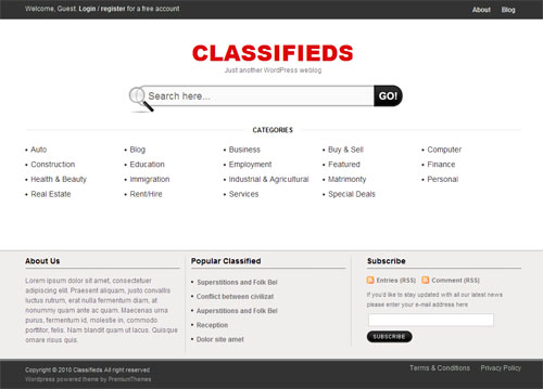 classifieds-wordpress-theme