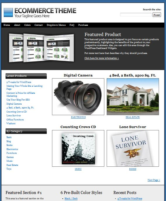 ithemes ecommerce wordpress theme