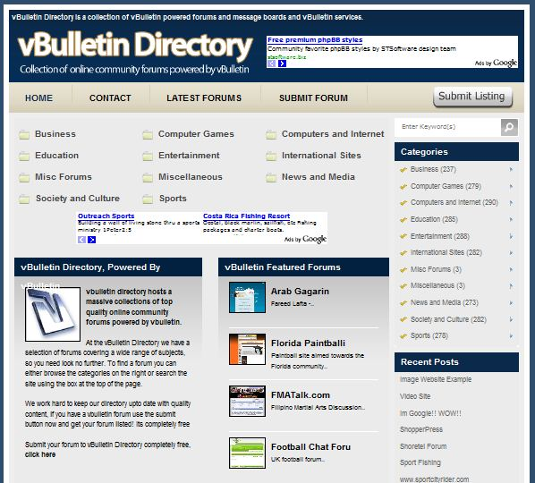 link directory wordpress template