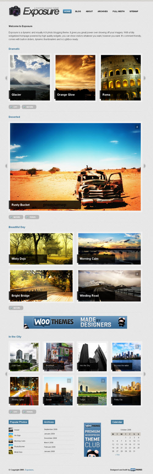 Exposure Premium WordPress Theme