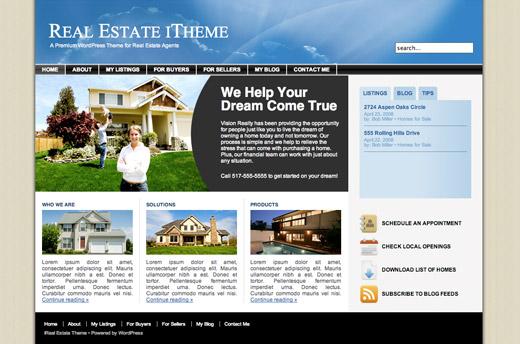 iReal  Estate WordPress Theme