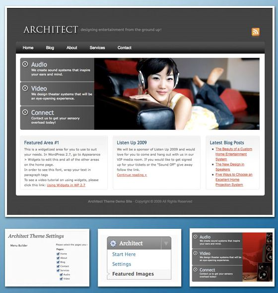 Architect Business WordPress Theme picture
