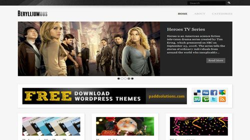 Free-WordPress-Themes-Berylliumous