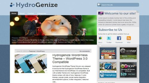 Free-WordPress-Theme-Hydrogenize Free WordPress Theme