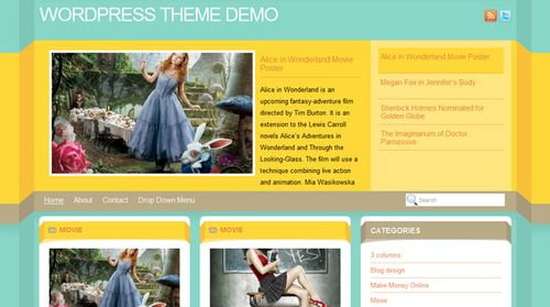 Free-WordPress-Theme-Dimenzion