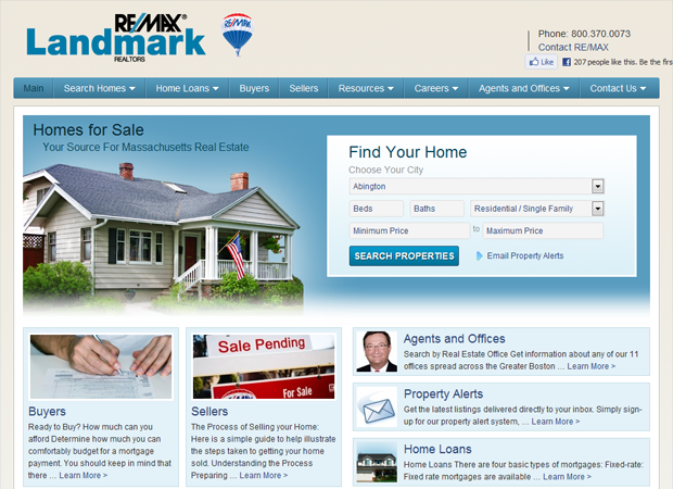 Real Estate Website Builder - Dobeweb