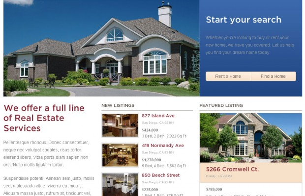 Best Real Estate WordPress Theme for Agents