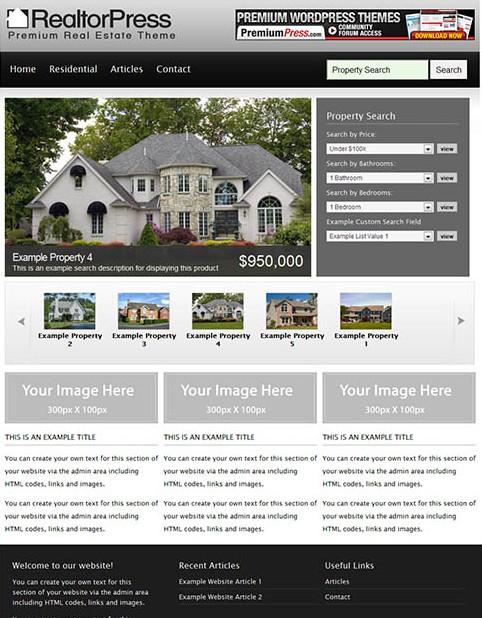 Best Real Estate WordPress Theme for Agents - Dobeweb