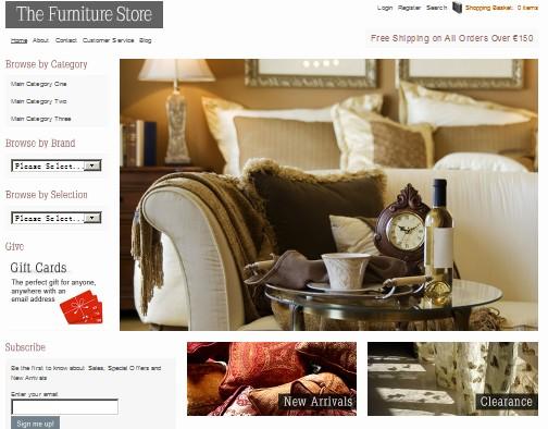 The Furniture Store - WordPress eCommerce Shop