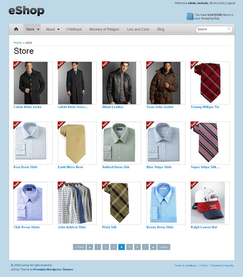 Best eCommerce Wordpress Themes - Dobeweb
