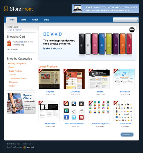 store-front-wordpress-theme