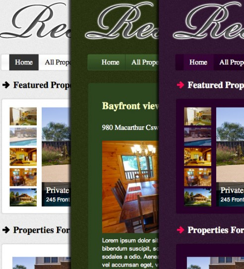 cms wordpress theme for real estate agents