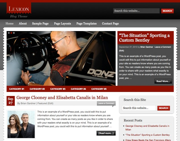 lexicon magazine wordpress theme