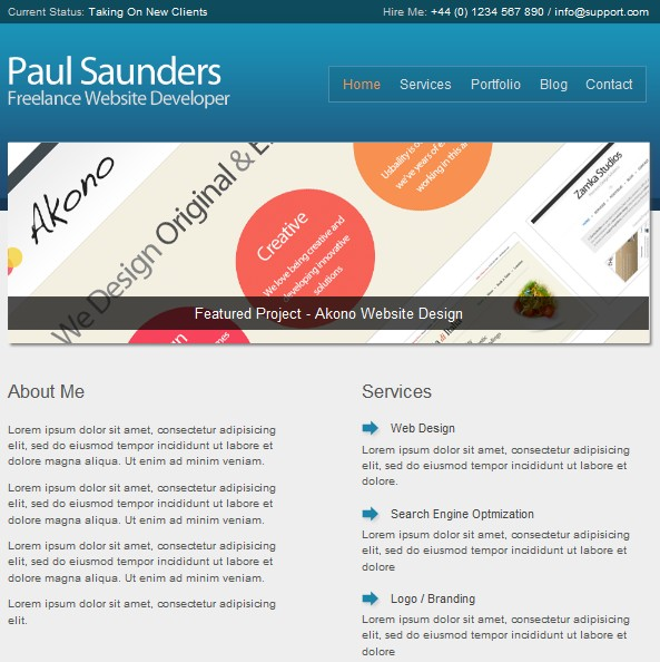 2011 business wordpress theme
