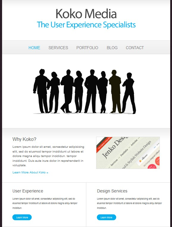 media cms wordpress theme koko