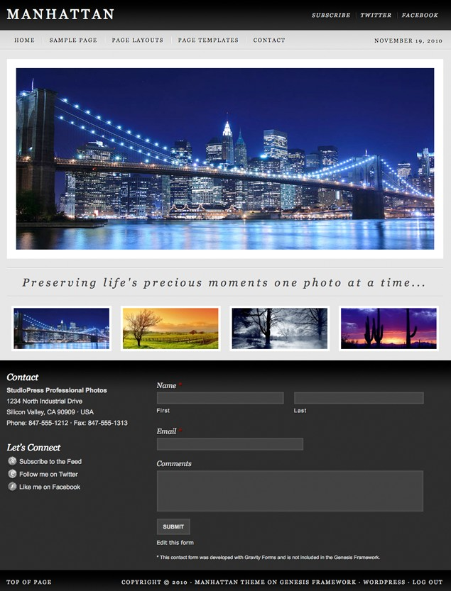 photography wordpress theme for photographers