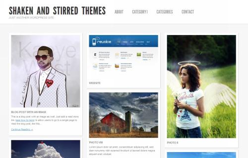 Wordpress-104 in 100 Free High Quality WordPress Themes: 2010 Edition