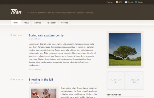 Wordpress-147 in 100 Free High Quality WordPress Themes: 2010 Edition
