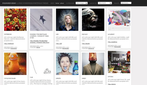 Sm WordPress Theme 59 in 100 Free High Quality WordPress Themes: 2010 Edition