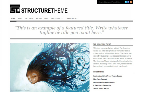 Wordpress-118 in 100 Free High Quality WordPress Themes: 2010 Edition