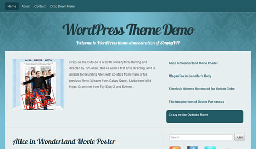 Sm WordPress Theme 10 in 100 Free High Quality WordPress Themes: 2010 Edition