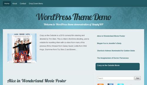 Sm WordPress Theme 10 in 100 Free High Quality WordPress Themes: 2010 Edition