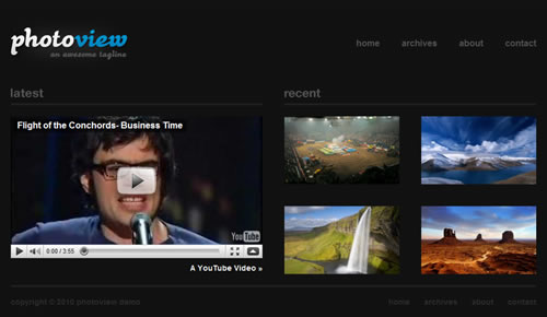 Sm WordPress Theme 61 in 100 Free High Quality WordPress Themes: 2010 Edition